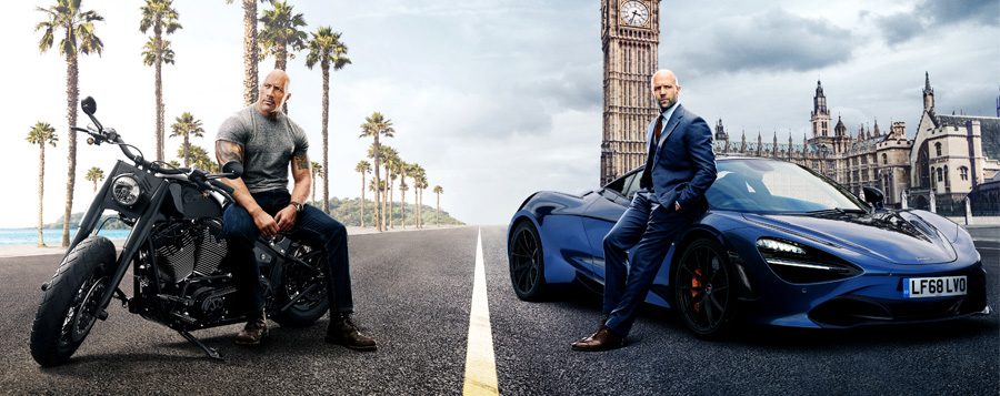 Poster for the movie Fast & Furious Presents: Hobbs & Shaw